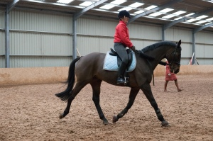 Being put through our paces at the ROR clinic